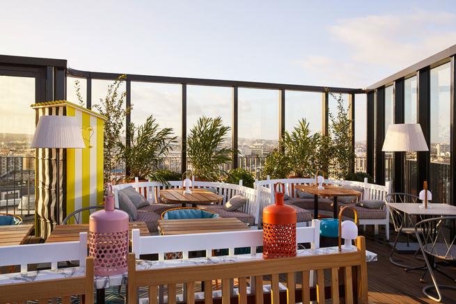 Paris: Voici les 5 plus belles terrasses avec vue - Mama Shelter Paris West